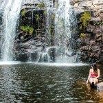 Conheça as cachoeiras do complexo do Claro em Delfinópolis