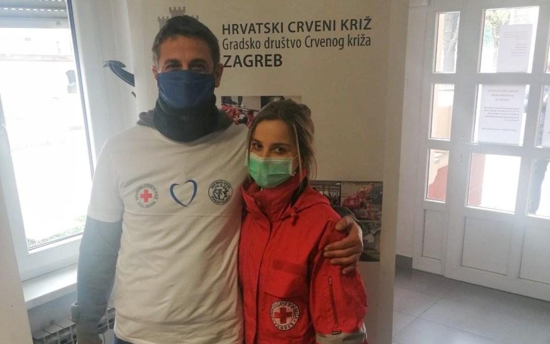 GDCK Zagreb i navijačka skupina Bad Blue Boys ujedinili su svoje snage u akciji PLAVO SRCE