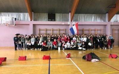 U subotu, 07.03.2020. održano je 24. školsko natjecanje mladih Hrvatskog Crvenog križa.