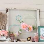 Floral Diy Embroidery Hoop Wreaths Fun365