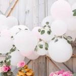 How To Diy A Balloon Garland Fun365