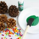 Pine Cone Christmas Tree Craft Fun365