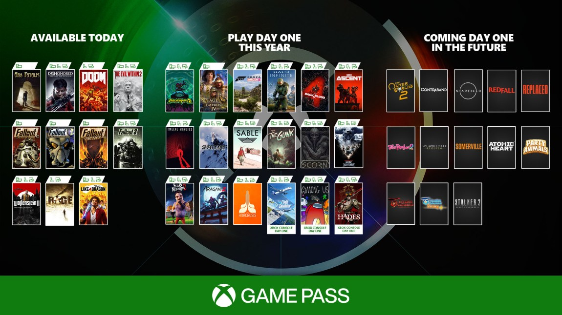 Xbox Game Pass, one of the stars of the event