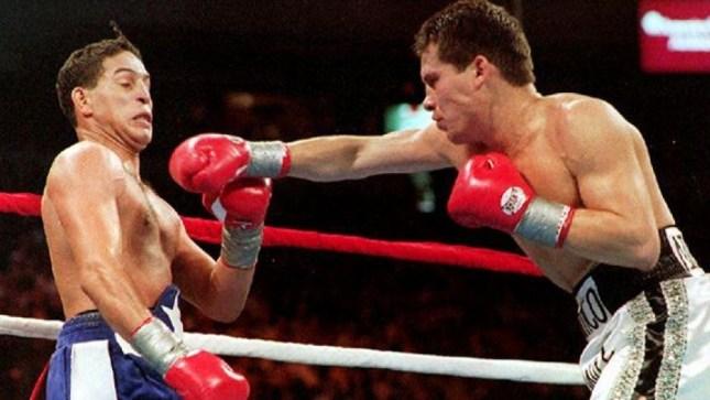 Image result for Julio Cesar Chavez vs Hector Camacho