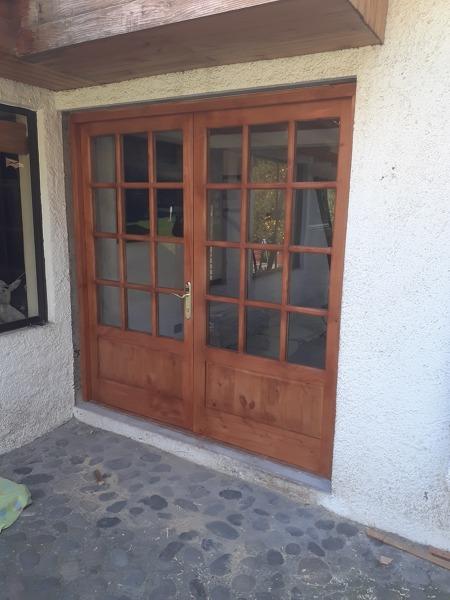 foto puerta patio interior de muebles