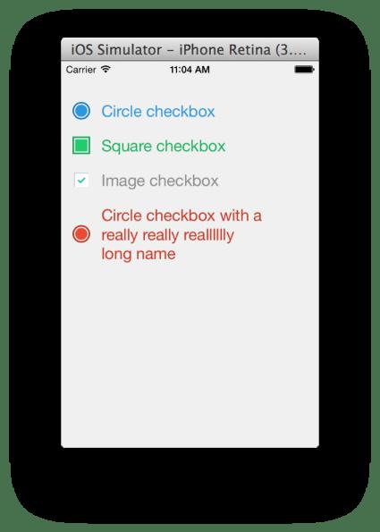 TNCheckbox for IOS