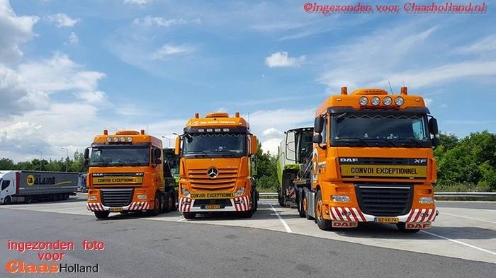 Chauffeurs Van der Vlist Twente on the road. Deel 12