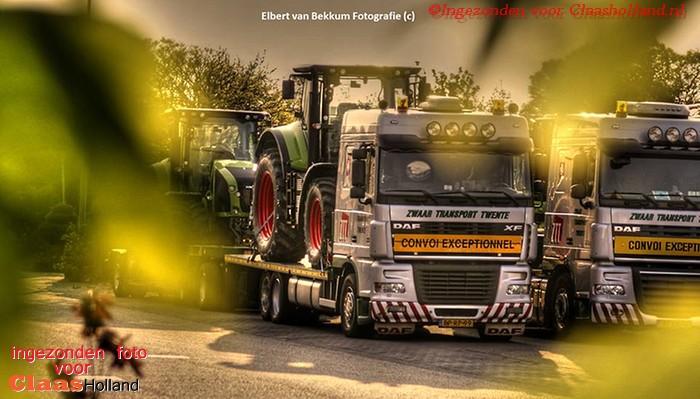 Zwaar transport Twente in de Grijze kleuren. (VDV ontoer met Claas Deel 19)