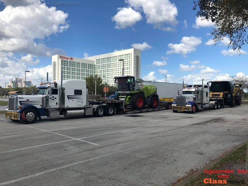 Claas transport in the USA part 5.