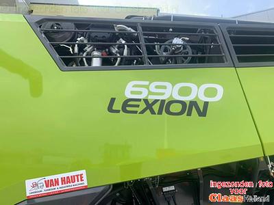 Claas Lexion 6900 new revolution in België.