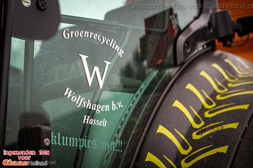 Maistransport door Groenrecycling Wolfshagen.