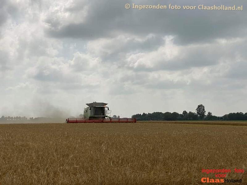De oogst is van 2021 is van start in de gerst.