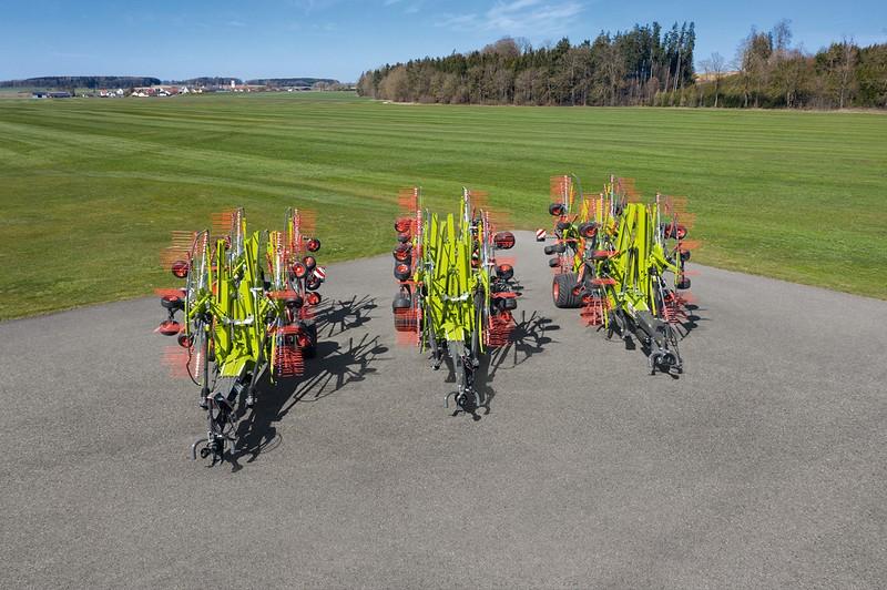 CLAAS introduceert volledig nieuwe generatie vierelements zwadharken.