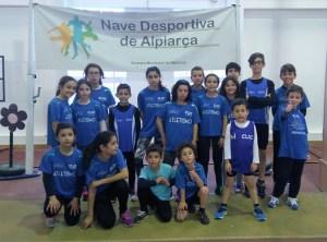 Grupo dos atletas