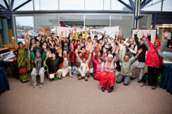 Halifax Public Libraries - Keshen Goodman Branch. As part of the library's Opening Doors project a Community Advisory Committee was formed, with library staff and community members collaborating to bring citizens and cultural groups together. A small but growing Bhutanese community, one of the newest immigrant communities in Halifax, participated in a week-long celebration of immigrant culture.