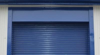 Factory Door Spraying Warrington