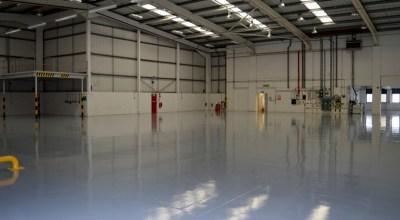 Hertford Unit Internal Flooring
