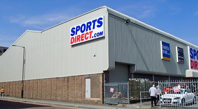 Sports Direct, Darlington