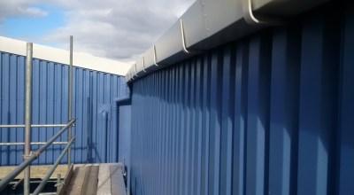 Rodo Warehouse Droylsden Refubishment Eaves