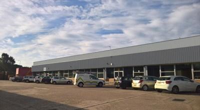 FDC Warehouse office digital image