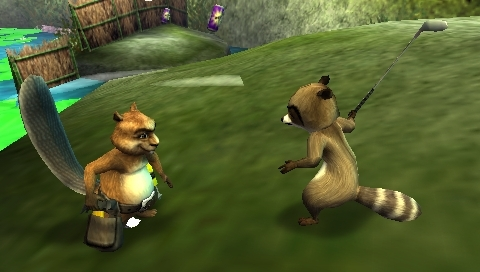 [PSP] Over the Hedge: Hammy Goes Nuts [2006, Action ...