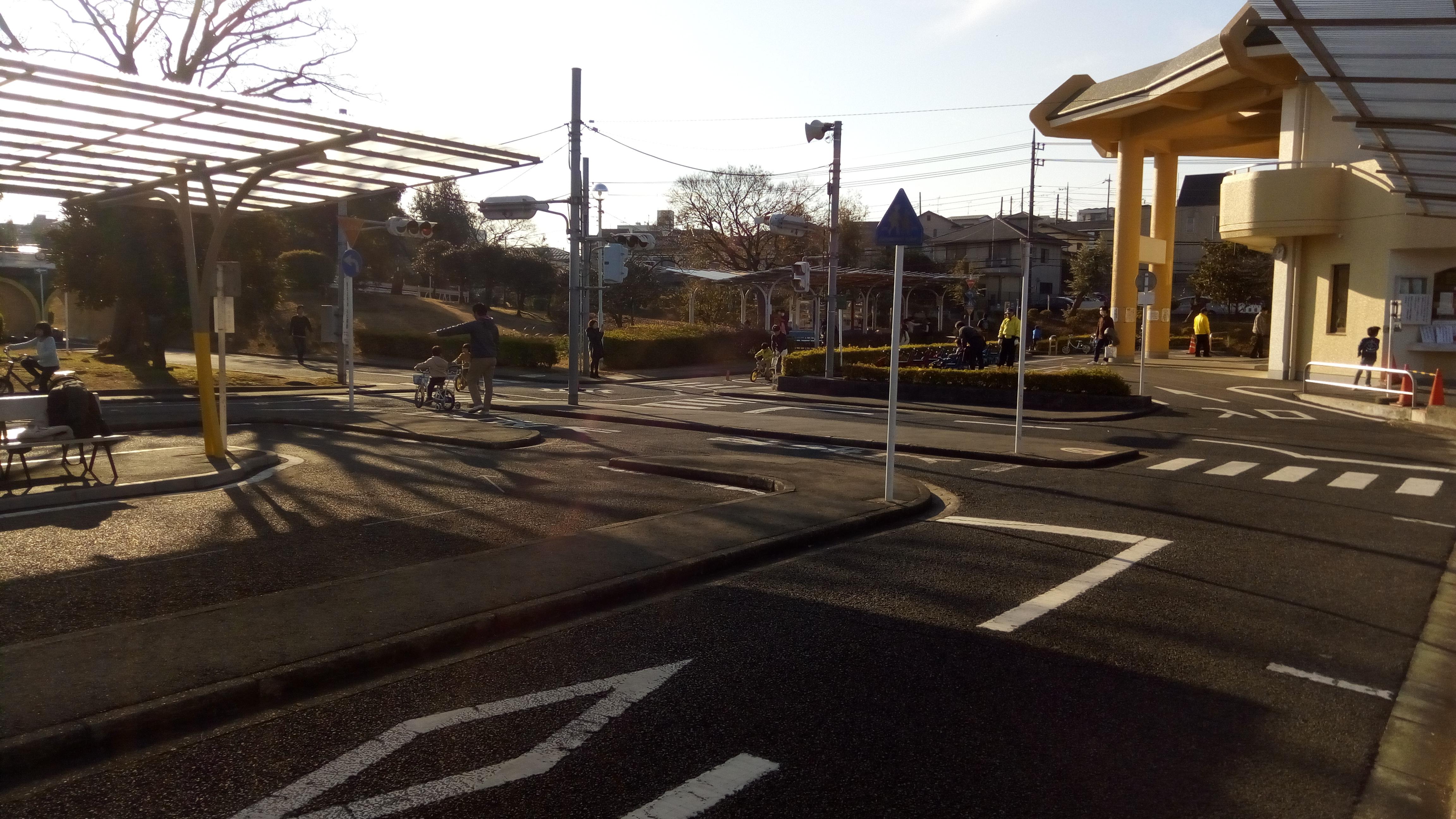 楽しく交通ルールが学べます~松戸「ユーカリ交通公園」