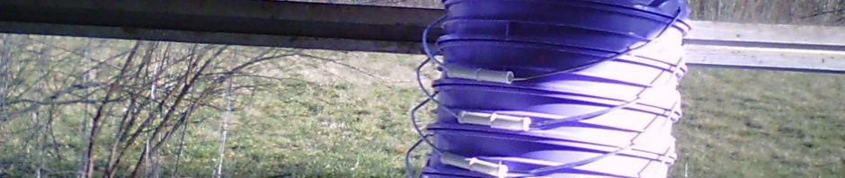 buckets for fodder system