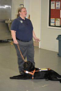Sarah & Leader Dog Denver