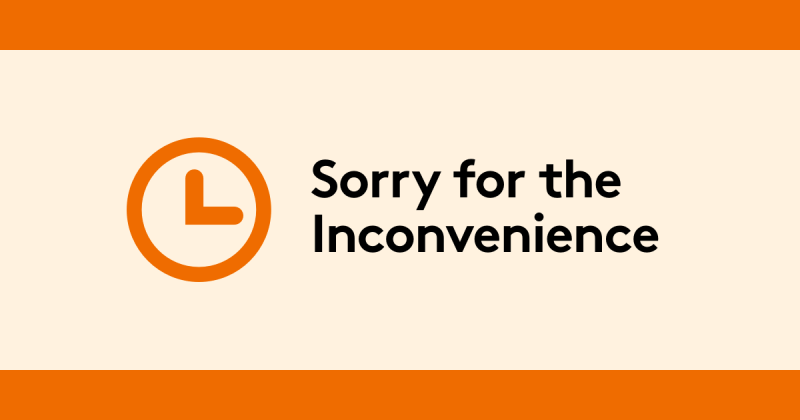 Member portal is unavailable, sorry for the inconvenience