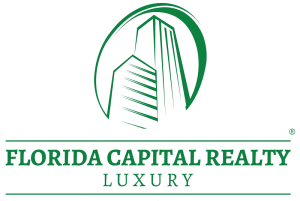 florida capital realty luxury logo