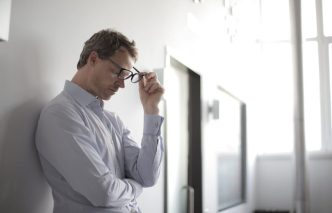 Man thinking whether to accept a PIAB Assessment
