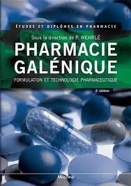 PHARMACIE GALENIQUE 2E ED – WEHRLE P