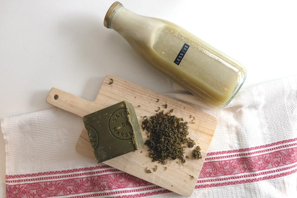 L'ingrédient de base de la lessive maison : le savon de Marseille