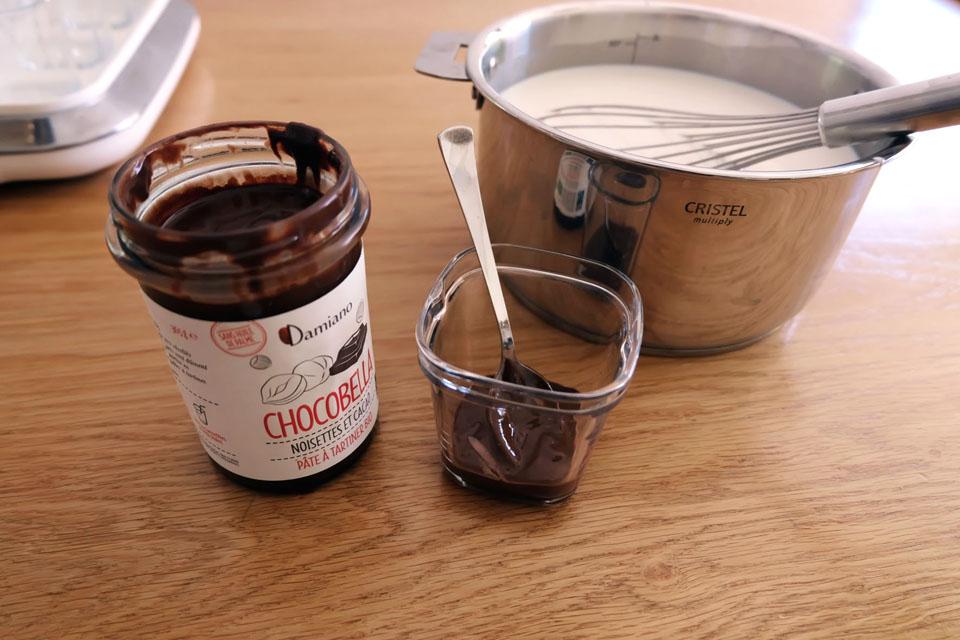 Préparer les gourmandises pour aromatiser les yaourts