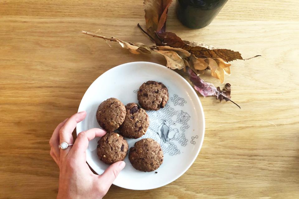 Il ne reste plus qu'à déguster ces cookies maison au chocolat