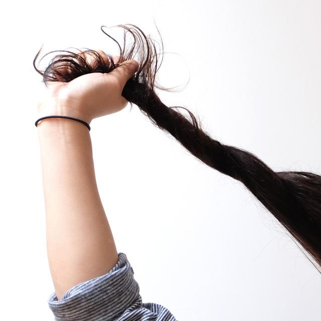 Routine cheveux saine et minimaliste