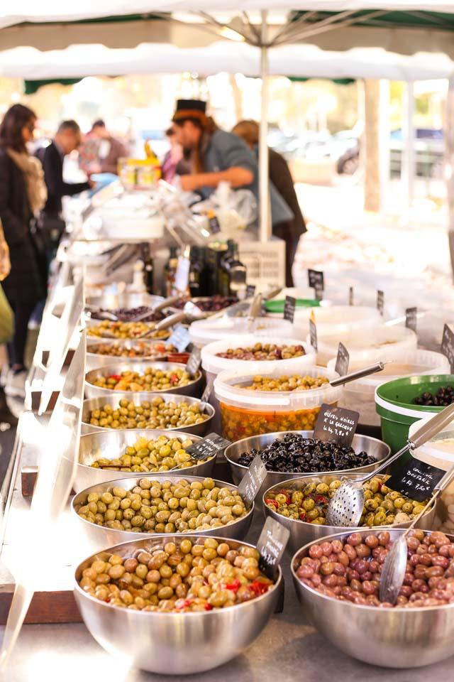 Le marché, l'endroit rêvé pour passer au zéro déchet @Lucie Paimblanc