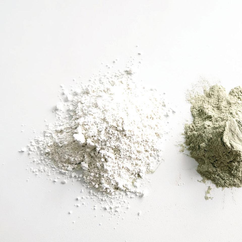 L'argile blanche, en cosmétique maison