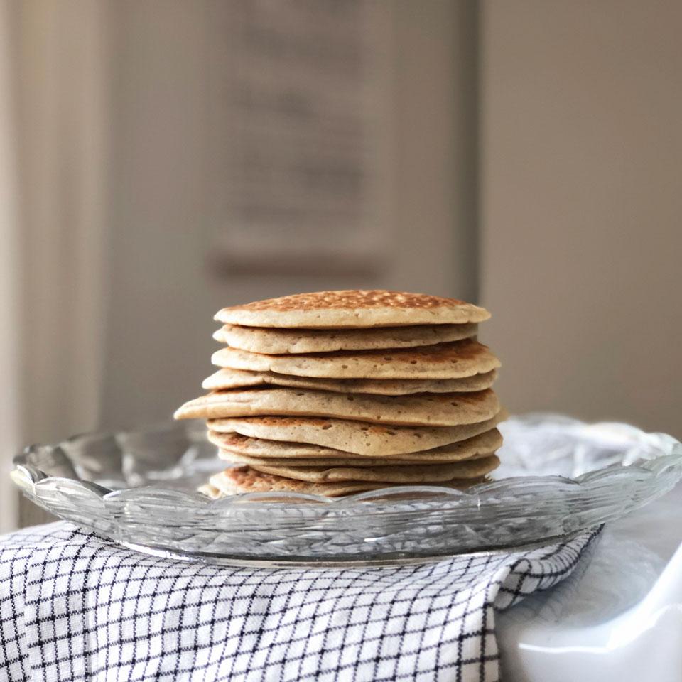 Des pancakes vegan maison moelleux !