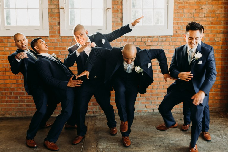 The Brick Liberty Station Wedding