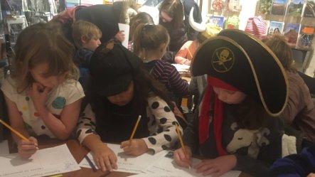 Workshop at Crediton Community Bookshop