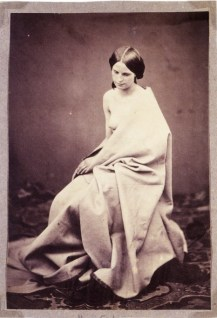 roger-fenton-semi-draped-female-nude