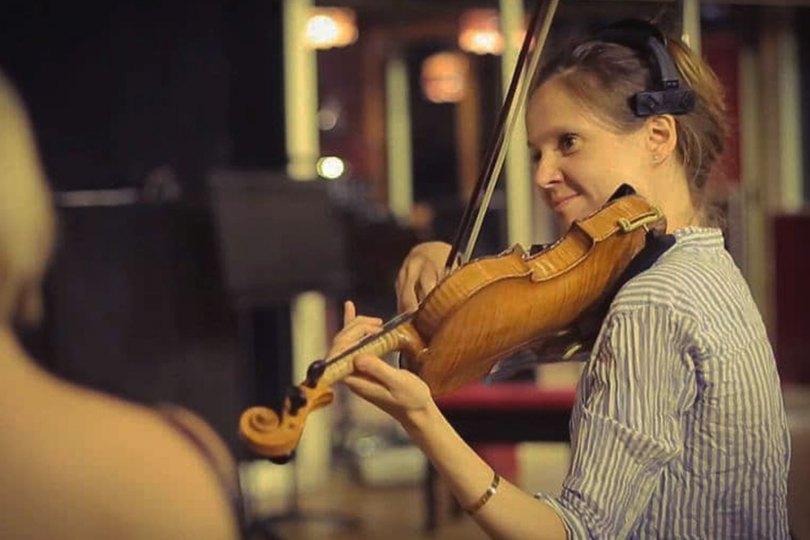 Claire Bucelle violoniste