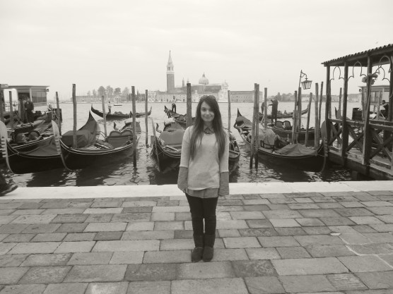 Gondolas at the Grand Canal!