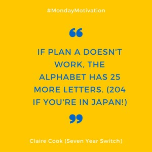 Monday Motivation from Seven Year Switch