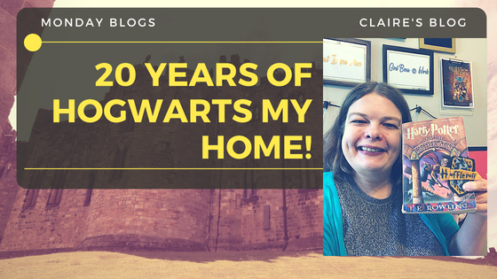 #MondayBlogs: 20 Years of Hogwarts My Home. Thank You @JK_Rowling!