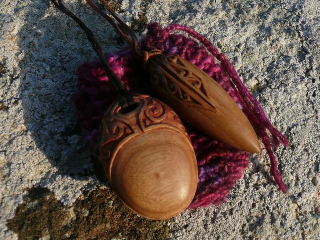 Le talisman (de l'autre face) et le pendule