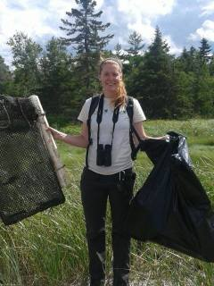 Worked as a summer intern for the Nature Conservancy of Canada in New Brunswick.