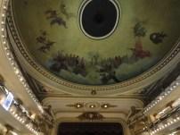 An intense ceiling.