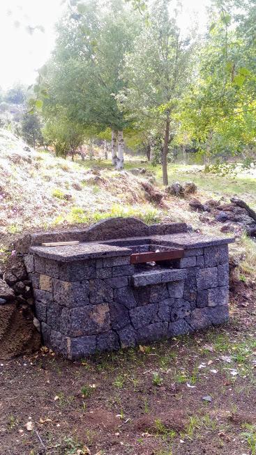 barbecue nel parco dell'Etna Area pic-nic
